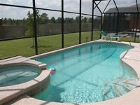 DISNEY villa Pool, spa, Free WIFI 4 Bedroom in Emerald Island Resort My Magical Homes