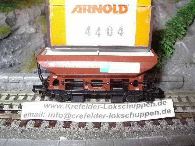 Arnold 4404 Selbstentladewagen Schotterwagen Neu&OVP