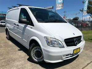 2011 Mercedes-Benz Vito 639 MY11 110CDI SWB White 6 Speed Manual Van Mulgrave Hawkesbury Area Preview