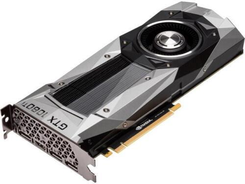 ASUS GeForce GTX 1080 TI 11GB GDDR5X Founders Edition VR Ready 5K HD Gaming HDMI