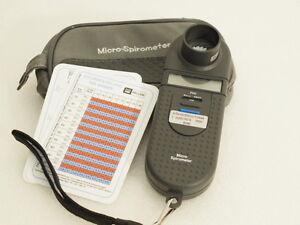 Micro Spirometer *** Tasche * Einsätze *