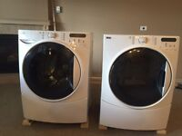 Washer & (Gas) Dryer front loading