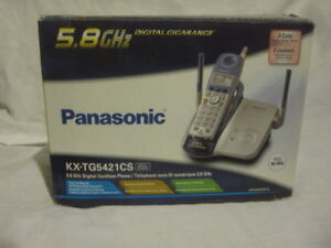 Panasonic 5.8GHZ Cordless Phone