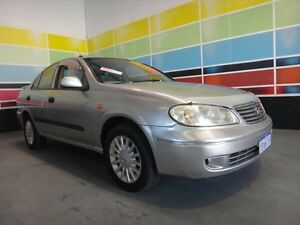 2004 Nissan Pulsar N16 MY04 ST-L Silver 4 Speed Automatic Sedan Wangara Wanneroo Area Preview