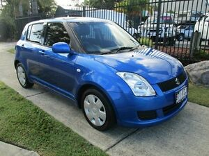 2010 Suzuki Swift EZ 07 Update S Blue 5 Speed Manual Hatchback Springwood Logan Area Preview