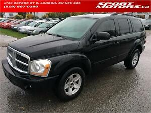 2004 Dodge Durango SLT! 7 PASS! 4x4! Leather! Trade In! AS IS!