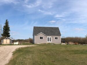 1 1/2 Storey Home on 153.99 Acres by Inglis, MB