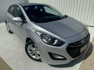2014 Hyundai i30 GD2 MY14 Trophy Silver 6 Speed Manual Hatchback Mundingburra Townsville City Preview