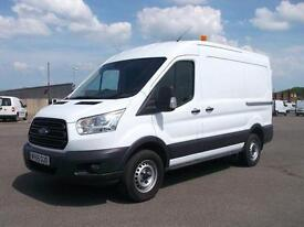 Ford Transit T350 MWB MEDIUM ROOF TDCI 100PS VAN DIESEL MANUAL WHITE (2015)