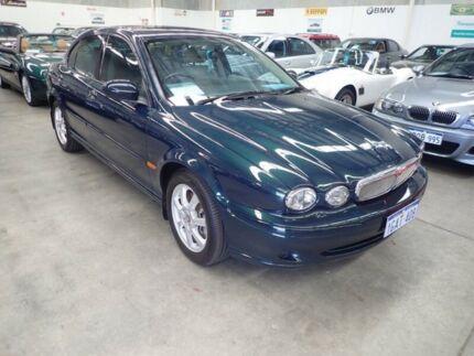 2002 Jaguar X-Type X400 Sport Heather Green Frost 5 Speed Manual Sedan Wangara Wanneroo Area Preview