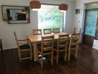 Country Kitchen Oak Table