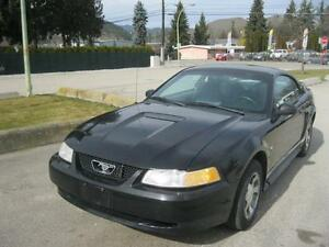 2000 Ford Mustang ONLY 100000 km! MINT LOCAL ONE OWNER!