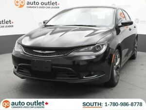 2015 Chrysler 200 S, Push Start Button, Dual Climate Controls, H