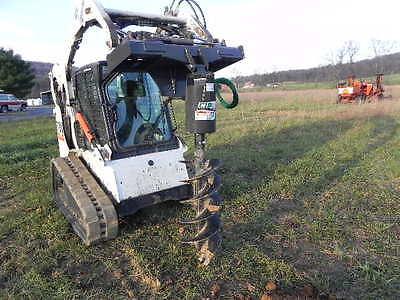New Cid Xtreme Skid Steer Auger Post Hole Digger For Bobcat Loader Deere Jcb New