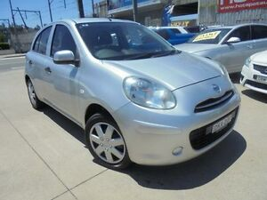 2012 Nissan Micra K13 ST-L Silver 5 Speed Manual Hatchback Holroyd Parramatta Area Preview