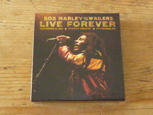Bob Marley & Wailers: Live Forever Empty Promo Box [Japan Mini-LP no cd reggae Q