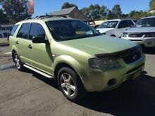 2005 Ford Territory SX TS (RWD) Green 4 Speed Auto Seq Sportshift Wagon Campbelltown Campbelltown Area Preview