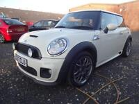 BMW MINI COOPER 'S' 1.6 CHILI PACK~57/07~6 SPEED MANUAL~LOW MILES~STUNNING WHITE