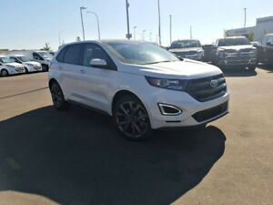 2018 Ford Edge Sport-2.7L V6 Engine,AWD,Suede,Cold Weather pkg,