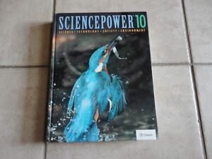 SciencePower 10 hardcover textbook London Ontario image 1