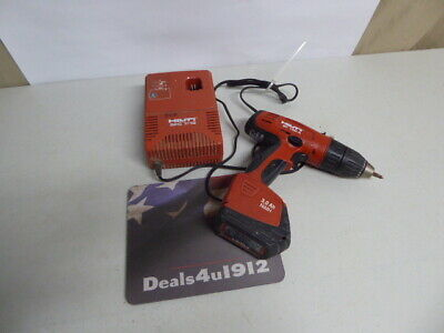 Hilti Sf150-a Drill Battery And Charger All Work Like They Should Great Set
