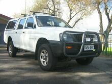 2003 Mitsubishi Triton MK GLX (4x4) White 5 Speed Manual 4x4 Dual Cab Utility Manningham Port Adelaide Area Preview
