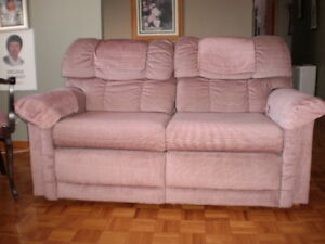 Causeuse Sofa 2 Plaaces Inclinable Elran/Sofa Recliner Lazy Boy