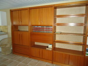 Eames Era, Teak, Denmark Wall Unit, Near new condition Williams Lake Cariboo Area image 3