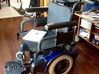"""EUC """"QUICKIE FREE STYLE"""" ELECTRIC WHEELCHAIR 1800.00"""