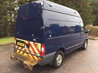 2011 11 FORD TRANSIT 2.4 350 H/R NO VAT 4WD NO VAT VAN 140 BHP DIESEL