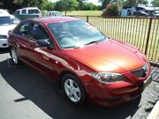 2005 Mazda 3 BK Neo Maroon 5 Speed Manual Sedan Girards Hill Lismore Area Preview