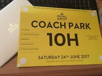 Royal Ascot Sell Out - Coach Park 10H - Sat 24th On the Heath - Trackside viewing from your vehicle