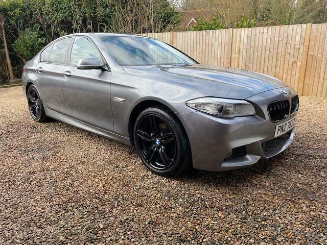 2011 BMW 520d M Sport - F10 - Manual - M5 Spoiler and Grill - FSH - Xenons