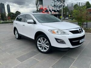 2010 Mazda CX-9 TB10A4 MY11 Grand Touring White 6 Speed Sports Automatic Wagon South Melbourne Port Phillip Preview