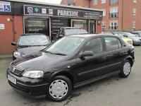 2003 (03) VAUXHALL ASTRA 1.6 CLUB 5DR Automatic