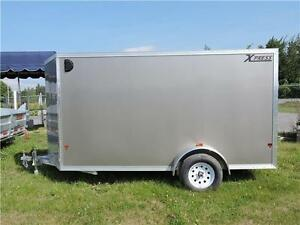 Remorque Fermée Aluminium 6X12 Aluminum Enclosed Trailer