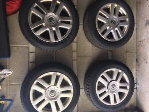 Winter Tires and alloy rims for VW Jetta 2006-10