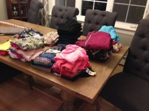 Size 6 - 8 Girls Winter Name Brand Clothing Lot