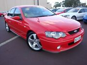 2004 Ford Falcon BA Mk II XR6 Turbo Red 4 Speed Sports Automatic Sedan Carey Park Bunbury Area Preview