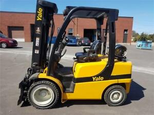 Forklift Yale 6000 Lbs , 2014 Pneumatic