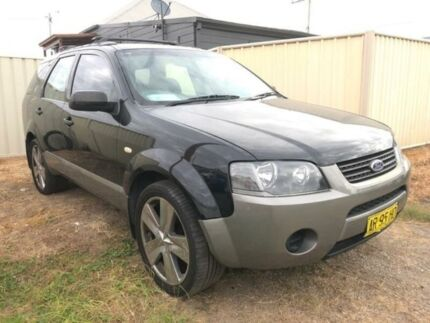 2007 Ford Territory SY TX Black Sports Automatic Wagon Edgeworth Lake Macquarie Area Preview