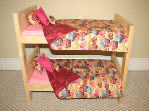 Solid Wood Doll Beds and other Doll Furniture