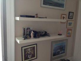 Ex Ikea Floating Shelves x 2