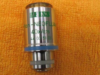 Zeiss Axioskop Plan Neofluar 40x 075 44 03 51 Objective