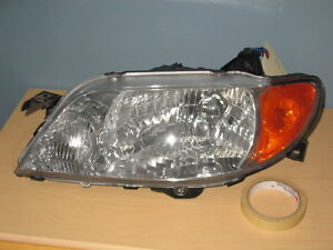 MAZDA PROTEGE PHARE HEADLIGHT HEADLAMP LUMIÈRE LAMP LIGHT