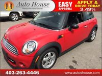 2011 MINI COOPER COUPE 6 SPEED MANUAL LEATHER PUSH BUTTON START