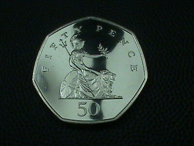 GREAT  BRITAIN    50 pence    1998   PROOF
