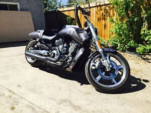 2014 VROD Muscle in great shape and Low Kms. Ugraded pipes