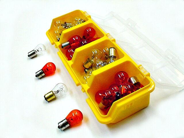 41 Brake Turn Signal Parking Light Bulbs Chevrolet Olds 1156 1157 Clear Amber