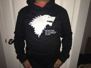 Brand new game of thrones and Harry Potter sweaters, all sizes